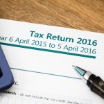 UK tax return form for 2016